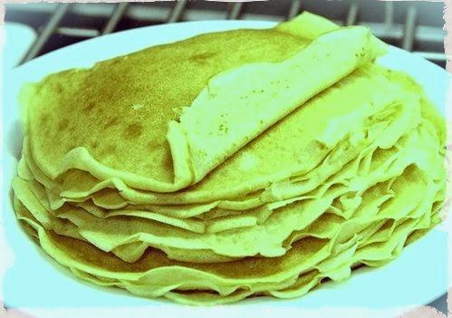 Grandma's Recipe for Pancakes.