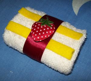 towel cake tiramisu