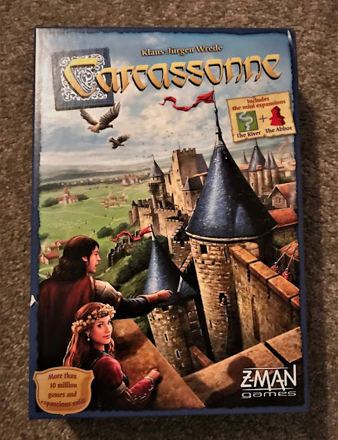 A lovely game to play as a family, build roads, rivers, monasteries and cities to win the game.