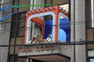 nativity scene, Intramuros, Manila, Philippines