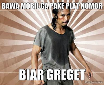 8 Meme 'Sistem Ganjil Genap' Ini Bikin Ngakak di Jalanan