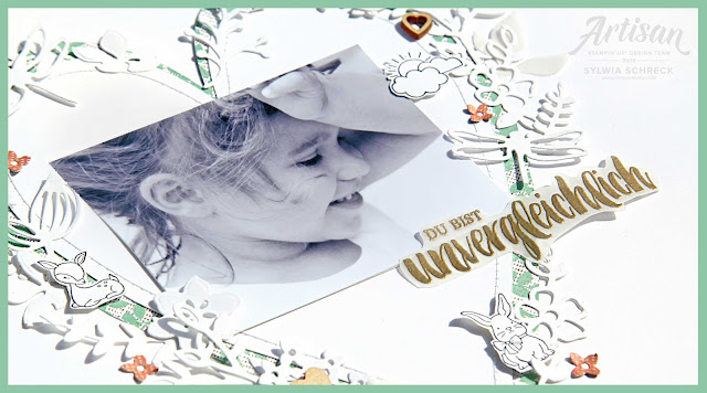 Layout-Stampin Up-Kraft der Natur
