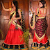 Indian Latest Bridal Lehenga Sarees with New Blouse Designs