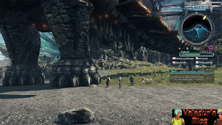 Huge enemy in Xenoblade Chronicles X