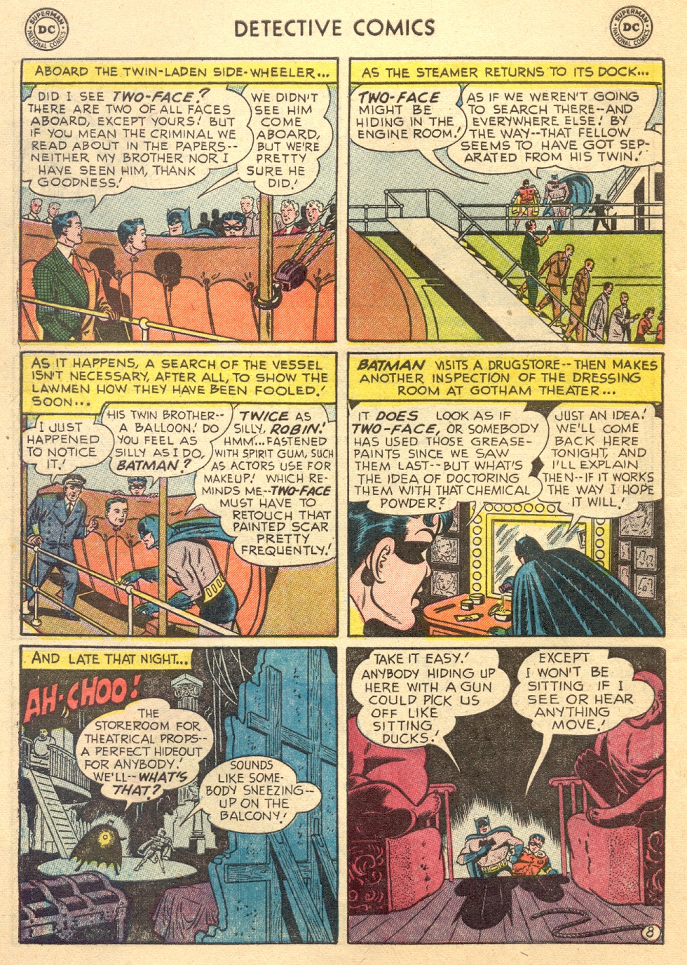 Read online Detective Comics (1937) comic -  Issue #187 - 10