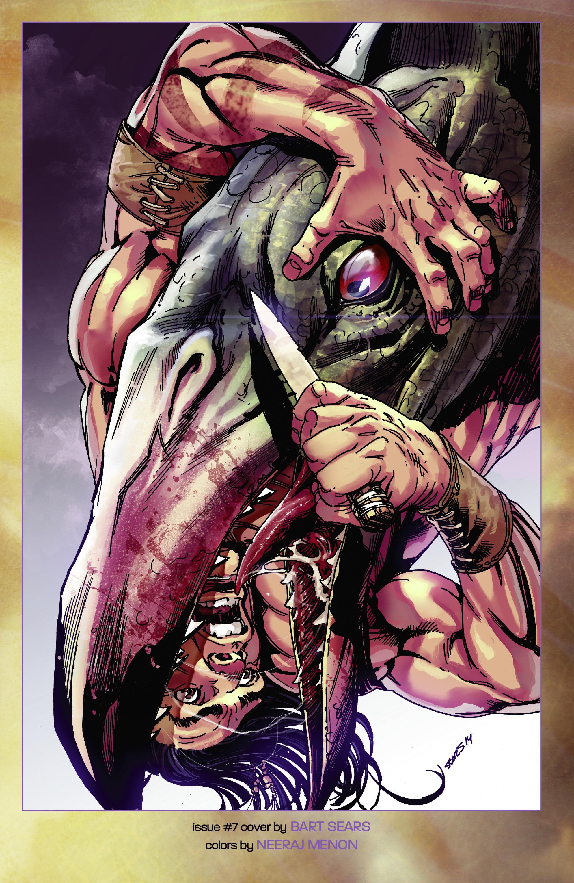 Read online Turok: Dinosaur Hunter (2014) comic -  Issue # _TPB 2 - 109