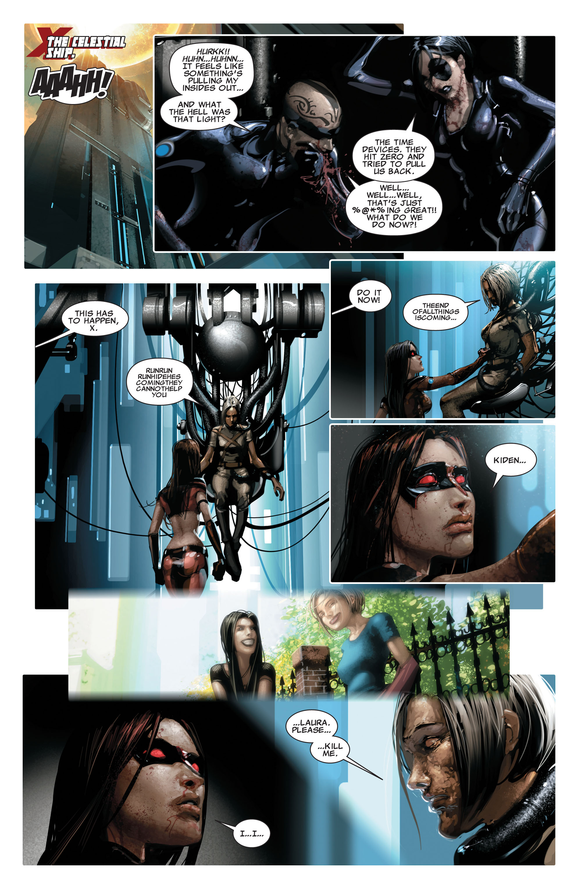 Read online X-Force (2008) comic -  Issue #16 - 6