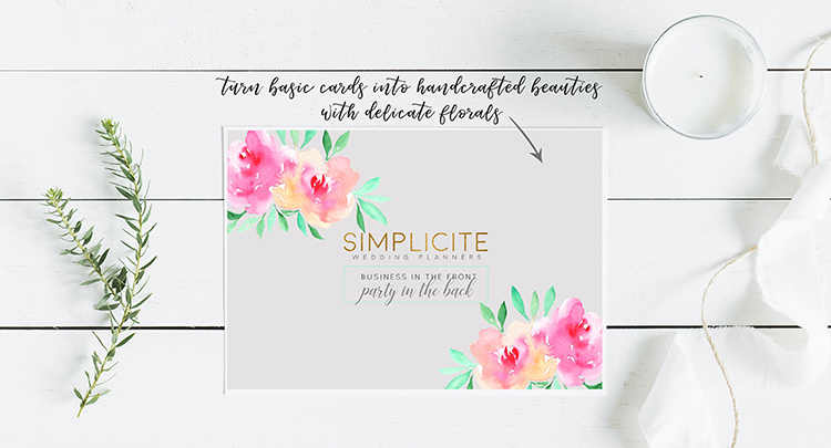 Craft A Doodle Doo// No Nonsense Watercolors Floral Starter Kit #watercolor #flowers #graphics #collection