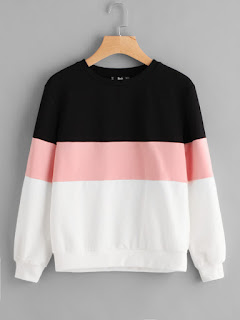 Cut And Sew Pullover