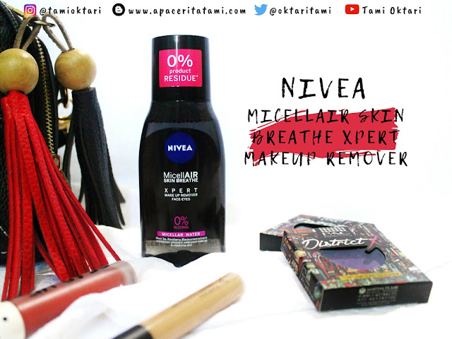 Review Nivea Skin Breathe Xpert Makeup Remover