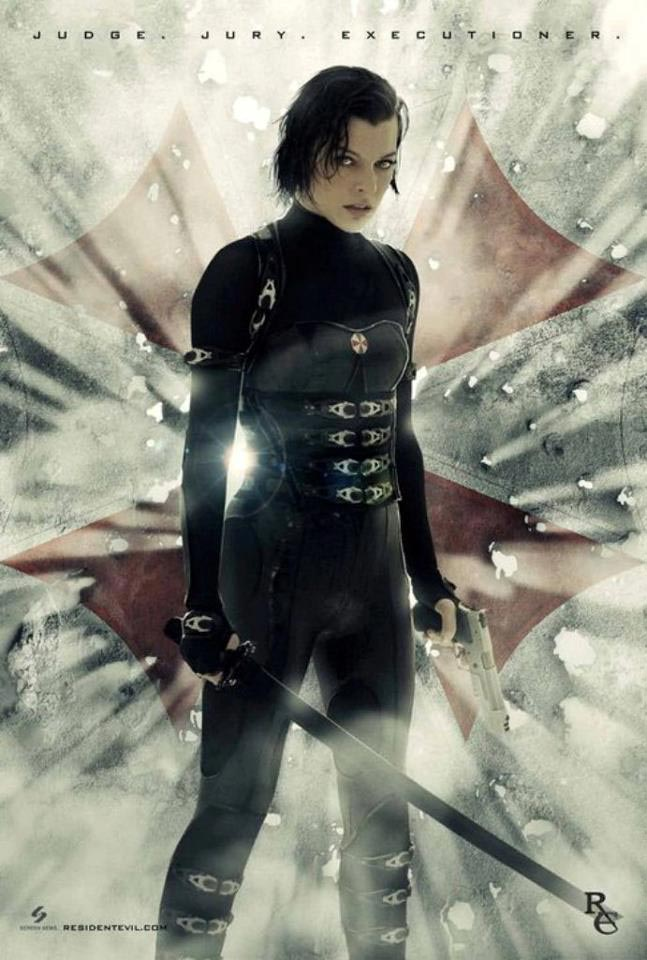 2 New Resident Evil: Retribution Posters Featuring Alice ...