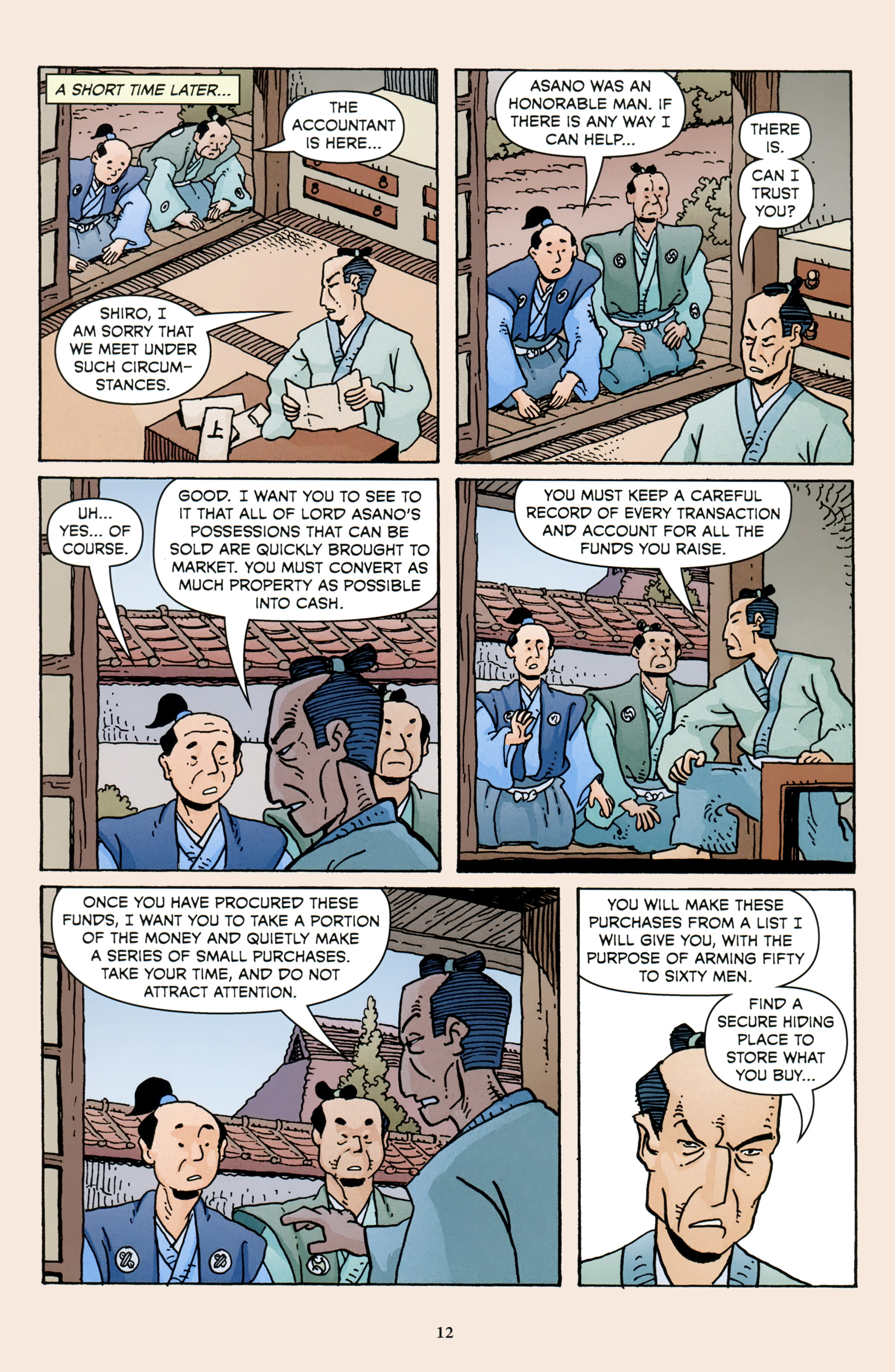 Read online 47 Ronin comic -  Issue #3 - 14