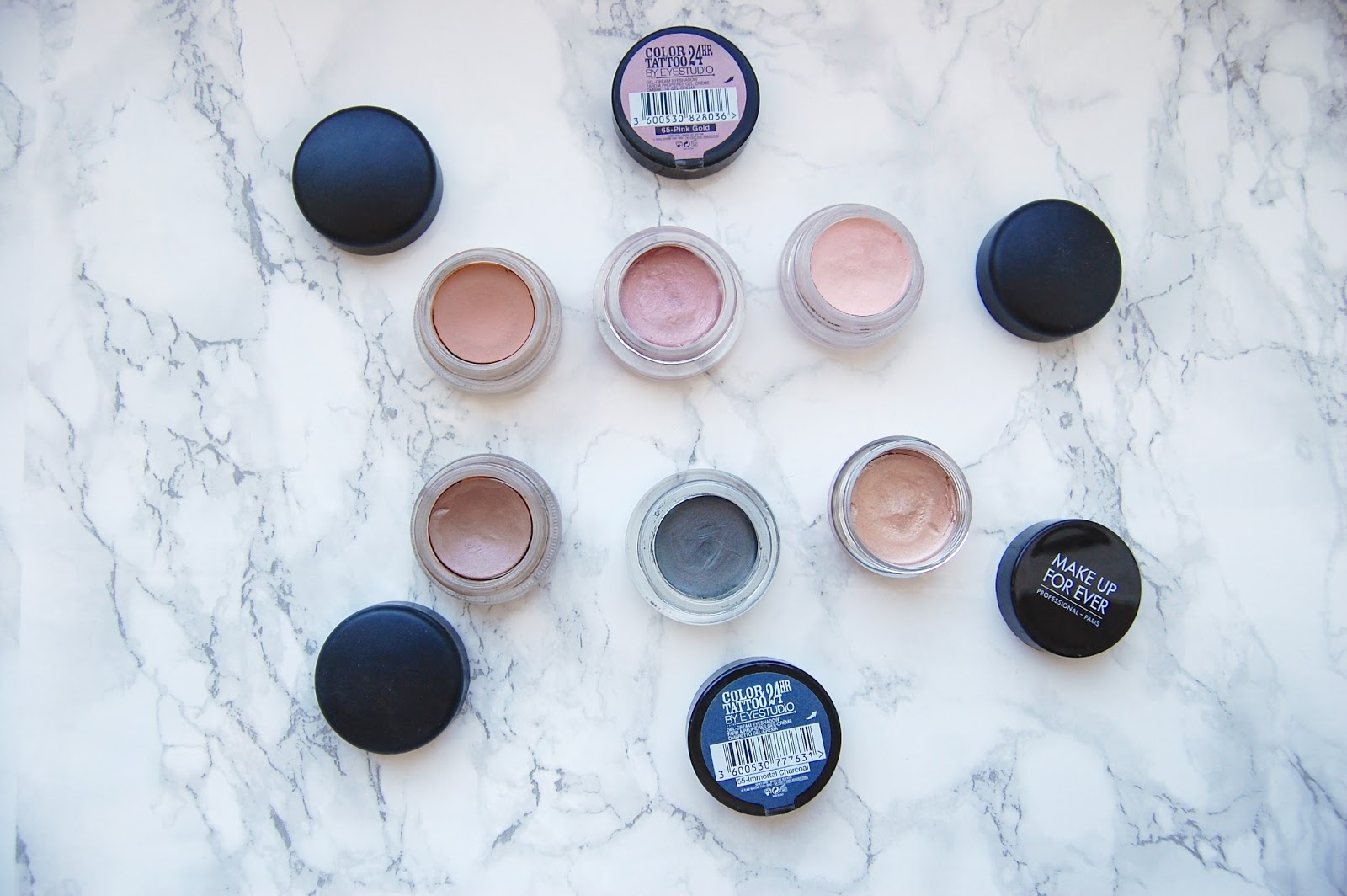 Read my cream eyeshadows review here