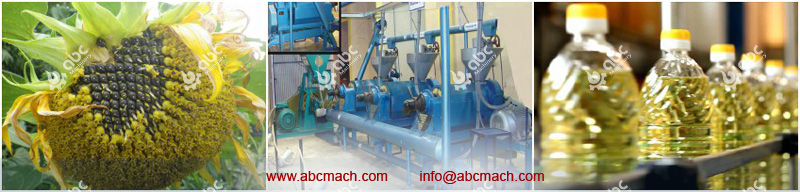 Edible Oil Extraction Process and Machinery: Small Sunflower Oil