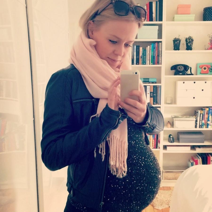 Katrine Lærke: Status på graviditeten: 1 uge til termin