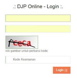 DJP Online Login