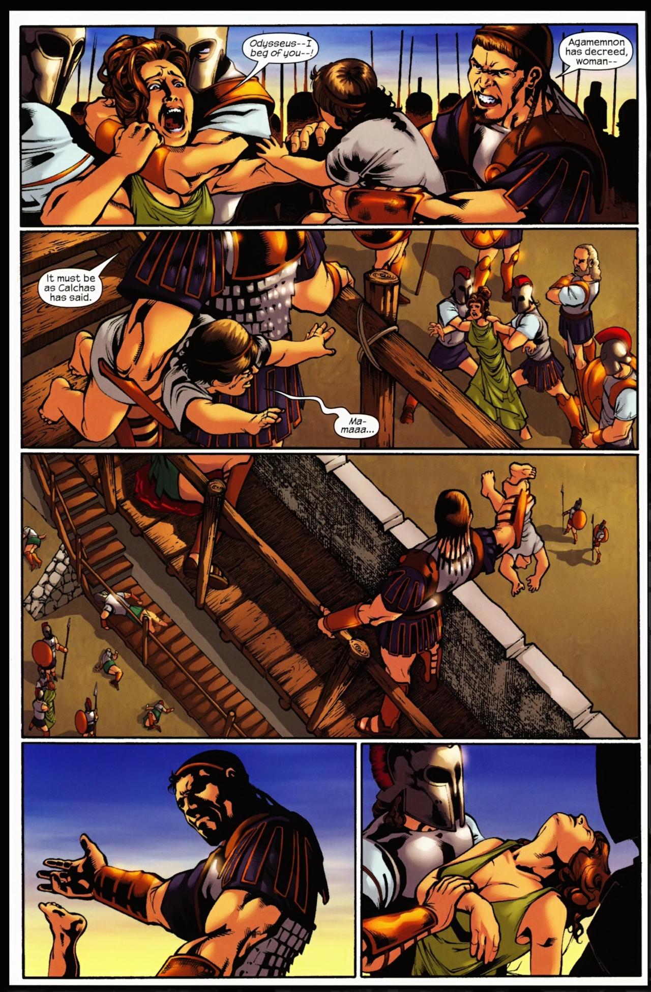 Read online Trojan War comic -  Issue #5 - 19
