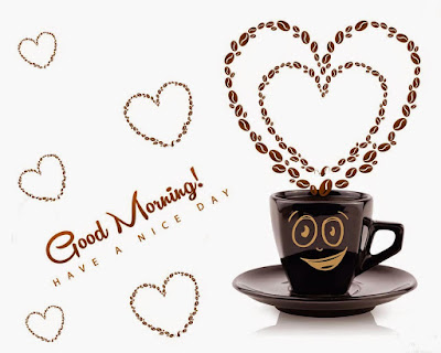 Have a Nice Day Coffee Heart
