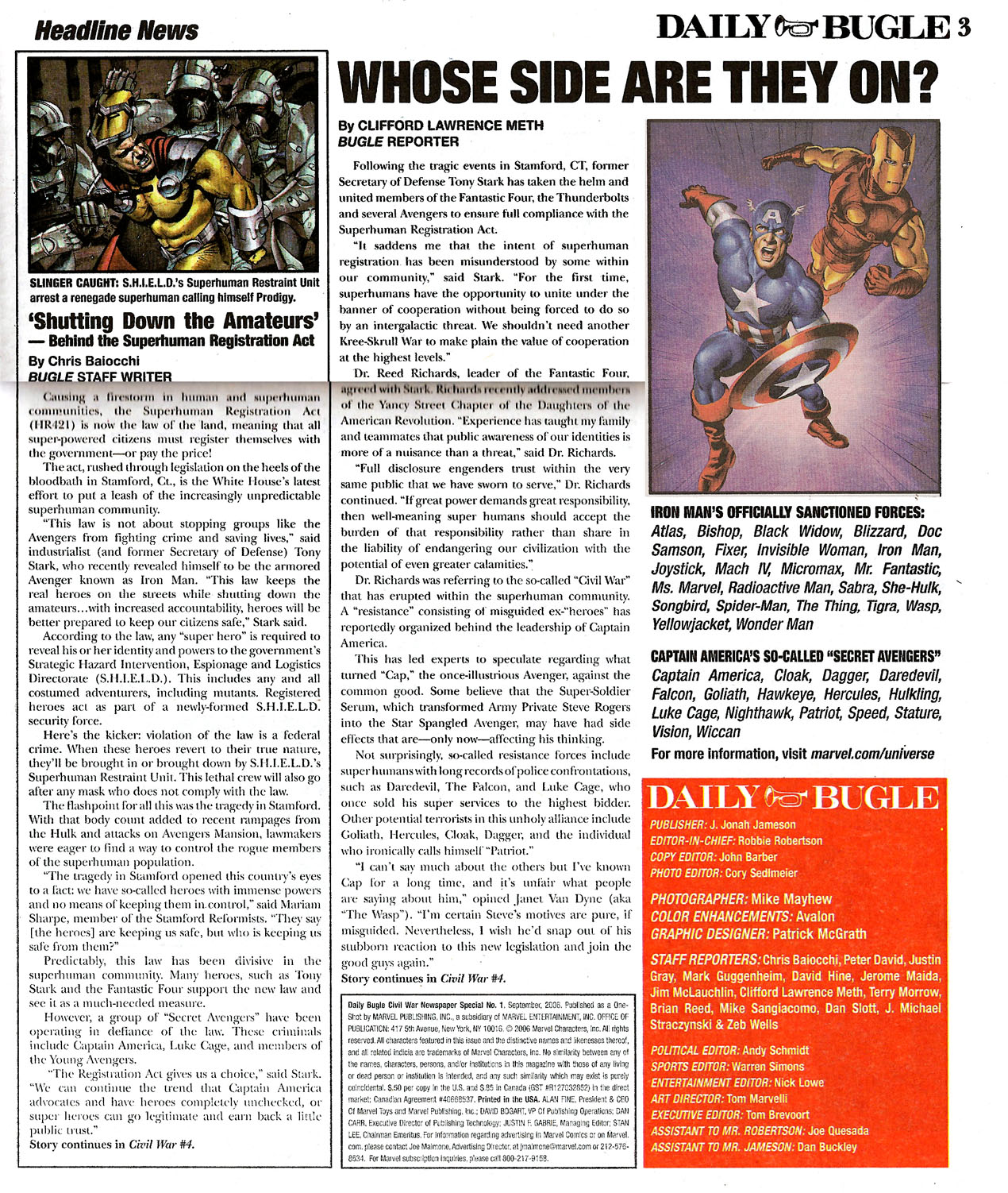 Read online Daily Bugle (2006) comic -  Issue #0 - 3