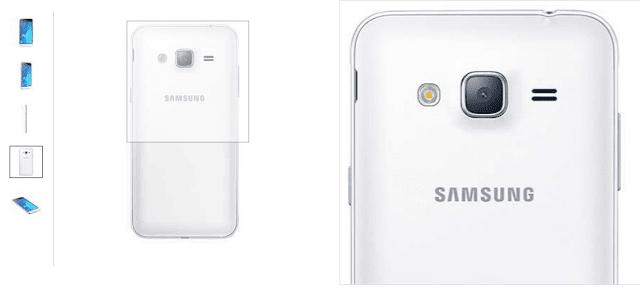 Harga & Spesifikasi Samsung Galaxy J3 - 8GB ROM - Putih