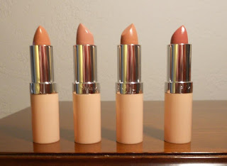 Rimmel Lasting Finish by Kate Nude Collection 4 Lipsticks.jpeg