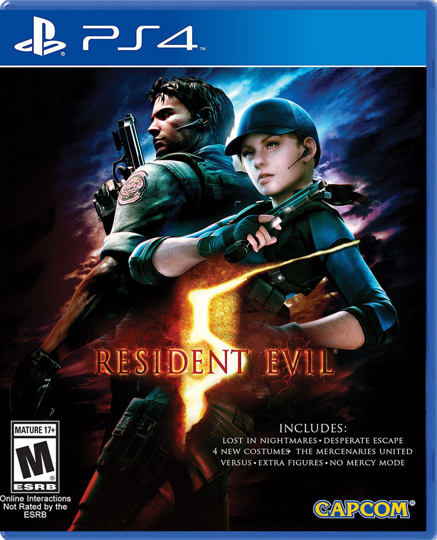 Resident Evil 5 + DLC [PS4] [PKG] [Google Drive] - Downloadgameps4