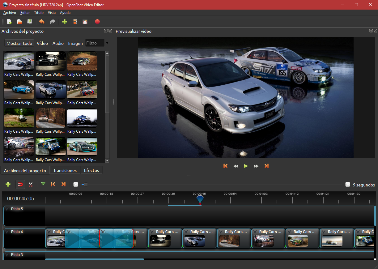 openshot video editor how to cut a video