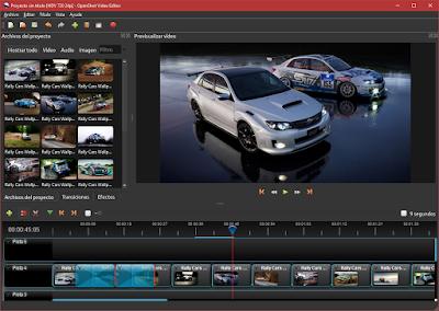 Crea tus propias películas con fotos, videos y añade transiciones, efectos y música