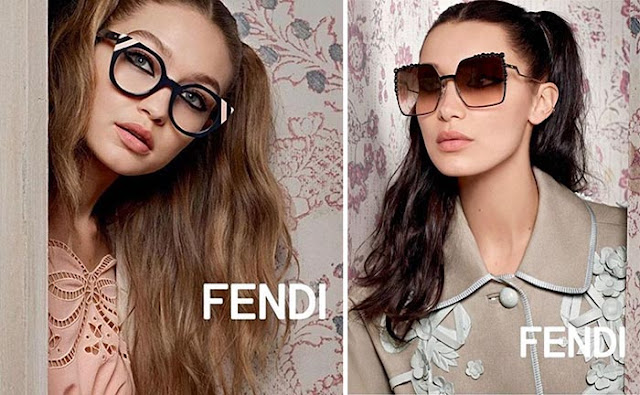 Bella Hadid goes chic for the Fendi Spring/Summer 2017 Campaign
