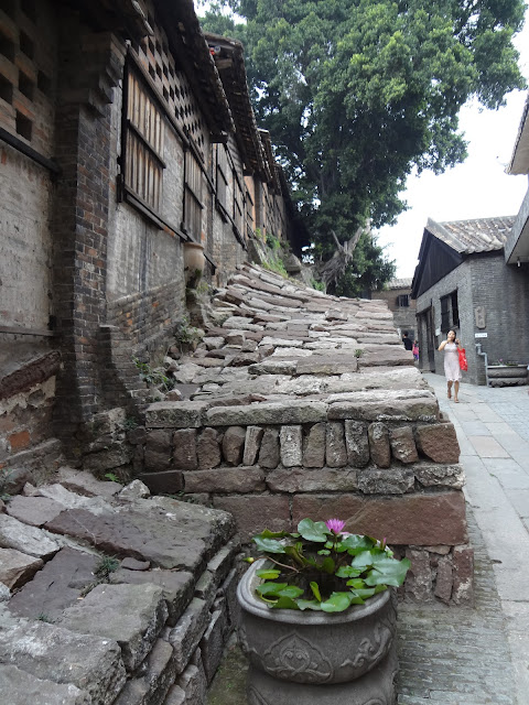 Calles del horno Nanfeng en Foshan