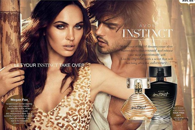 Avon Instinct Fragrance Campaign featuring Megan Fox and Marlon Teixeira