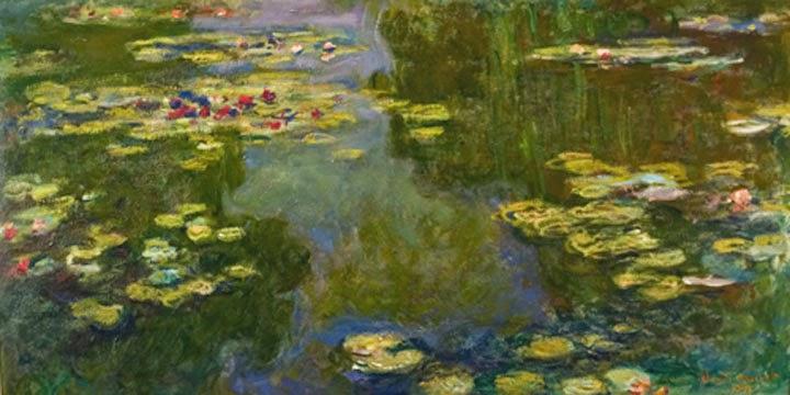 Claude Monet Le bassin aux nymphéas. 1919 Christie′s 1992