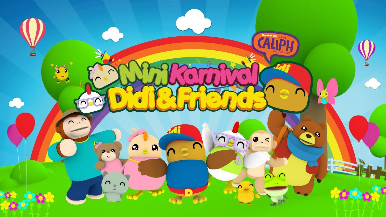 Mini Karnival Didi Amp Friends Di Alamanda Putrajaya