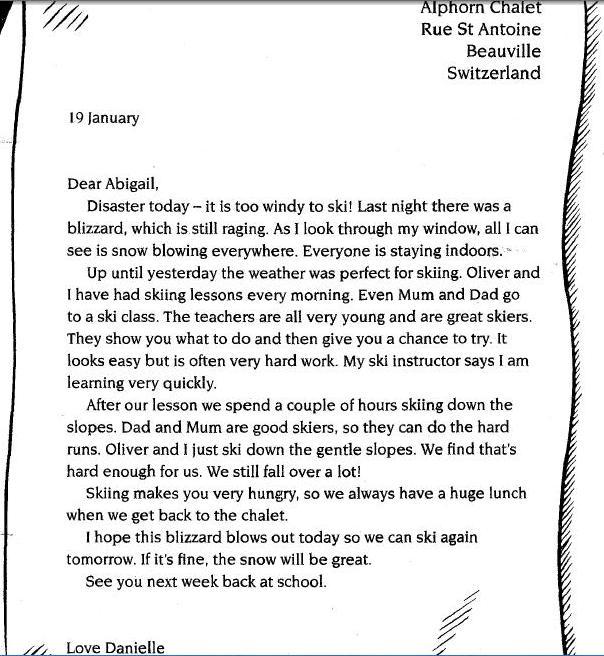 Letter essay spm