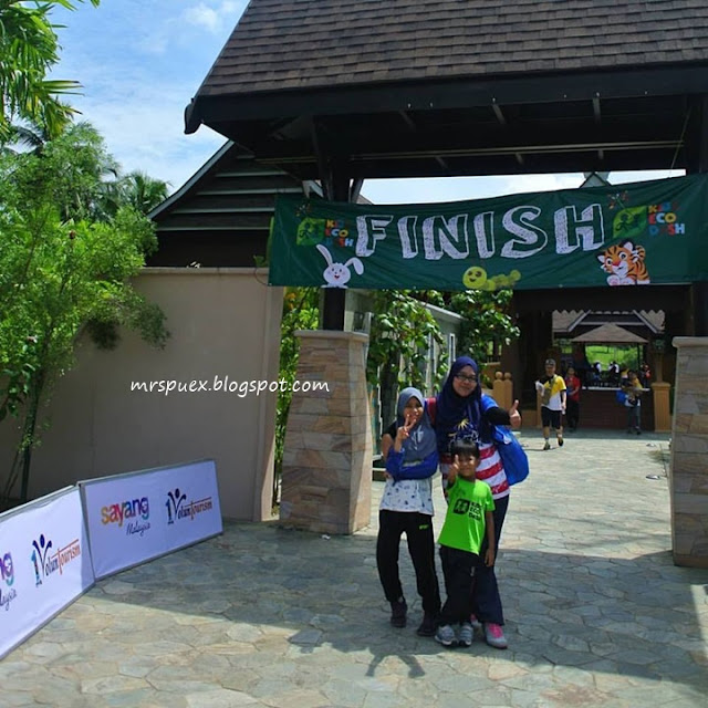 FUN RUN AT KIDS ECO-DASH 2017
