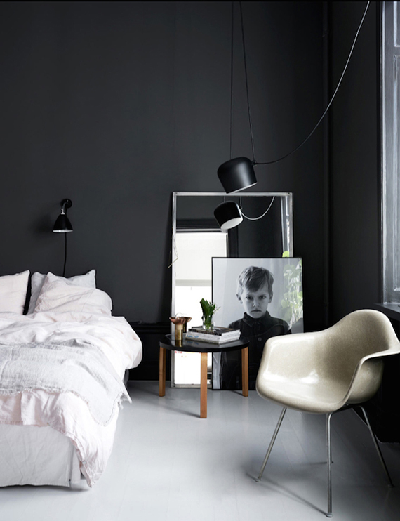 Dark bedrooms inspiration | Elle Decoration Uk