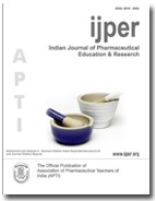 IJPER - Indian Journal of Pharmaceutical Education and Research