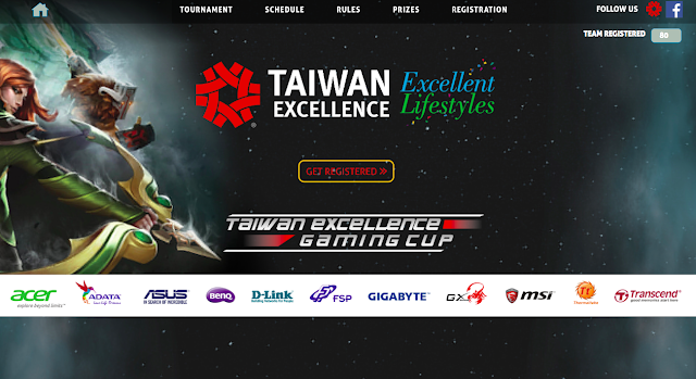 DOTA 2 fanatics to battle in one of India's most prestigious gaming tournaments, Taiwan Excellence Gaming Cup