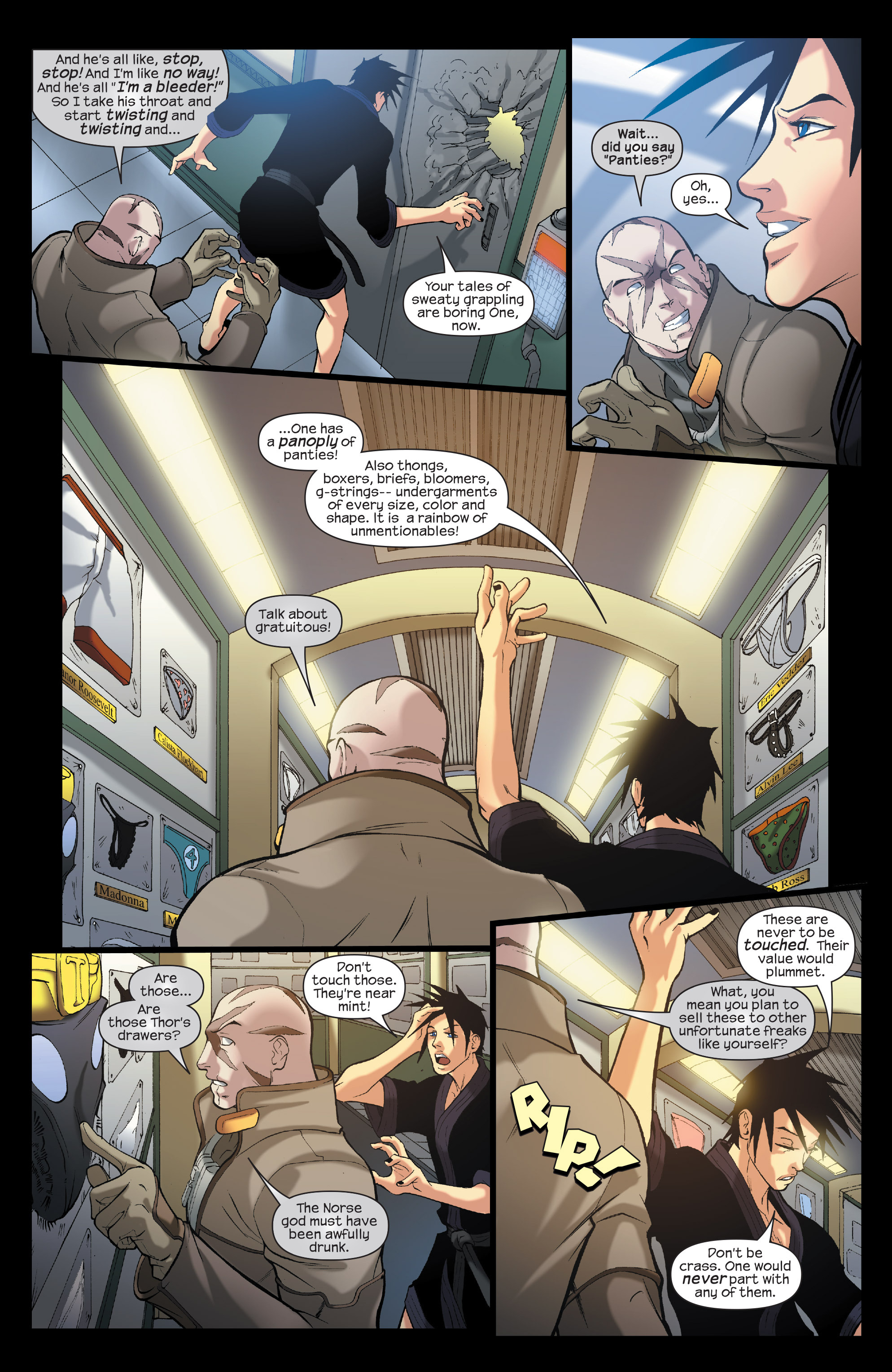 Read online Agent X comic -  Issue #7 - 7