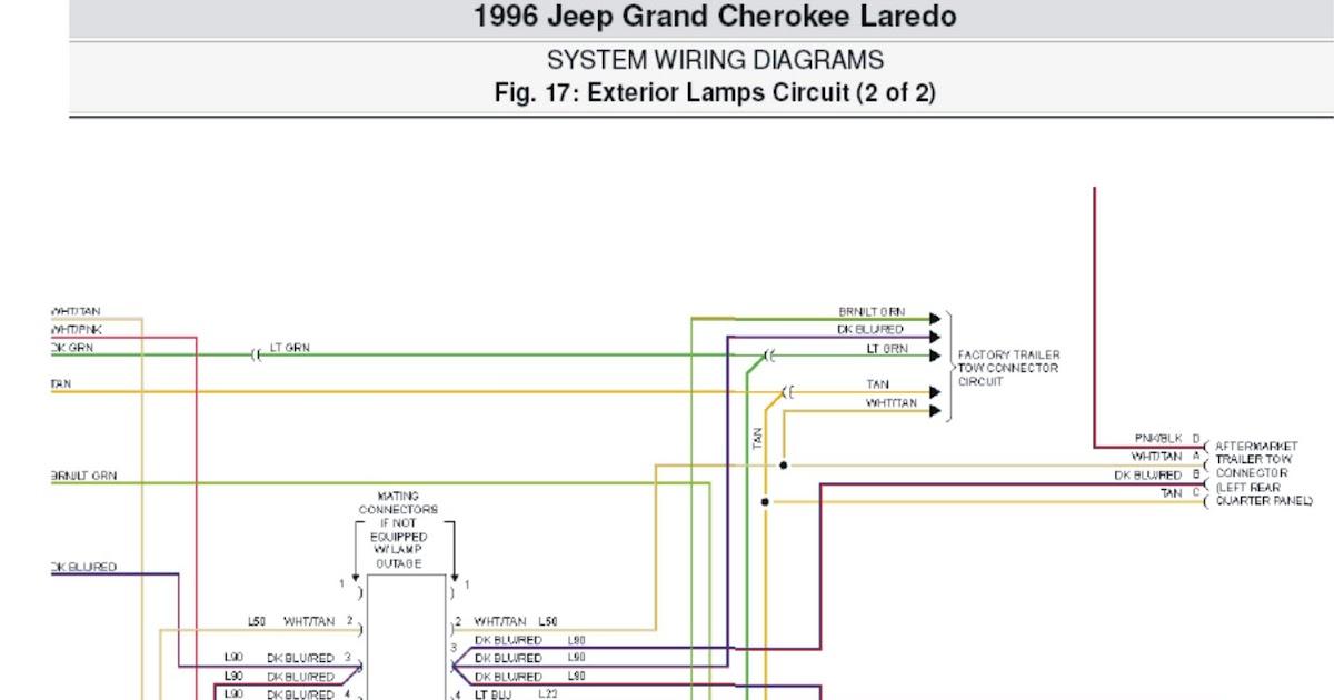 factory stereo wire diagram 2001 jeep grand cherokee laredo