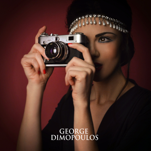 George Dimopoulos Photography | Retro Camera Shooting at the Studio