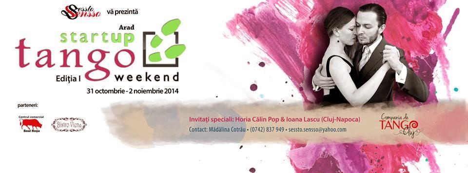 StartUP Tango Weekend Arad Editia I