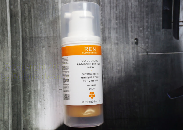 Ren GlycoLactic Radiance Renewal Mask | bellanoirbeauty.com