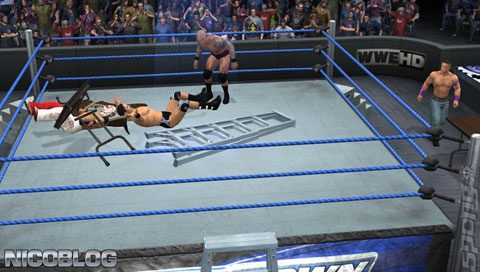 WWE SmackDown vs Raw 2011 PS2 GAME ISO Gameplay