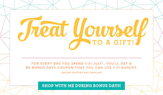 Get a $9 voucher in July for every $90 you spend, then you get to redeem it in August. Order here - https://goo.gl/ks2Fi5