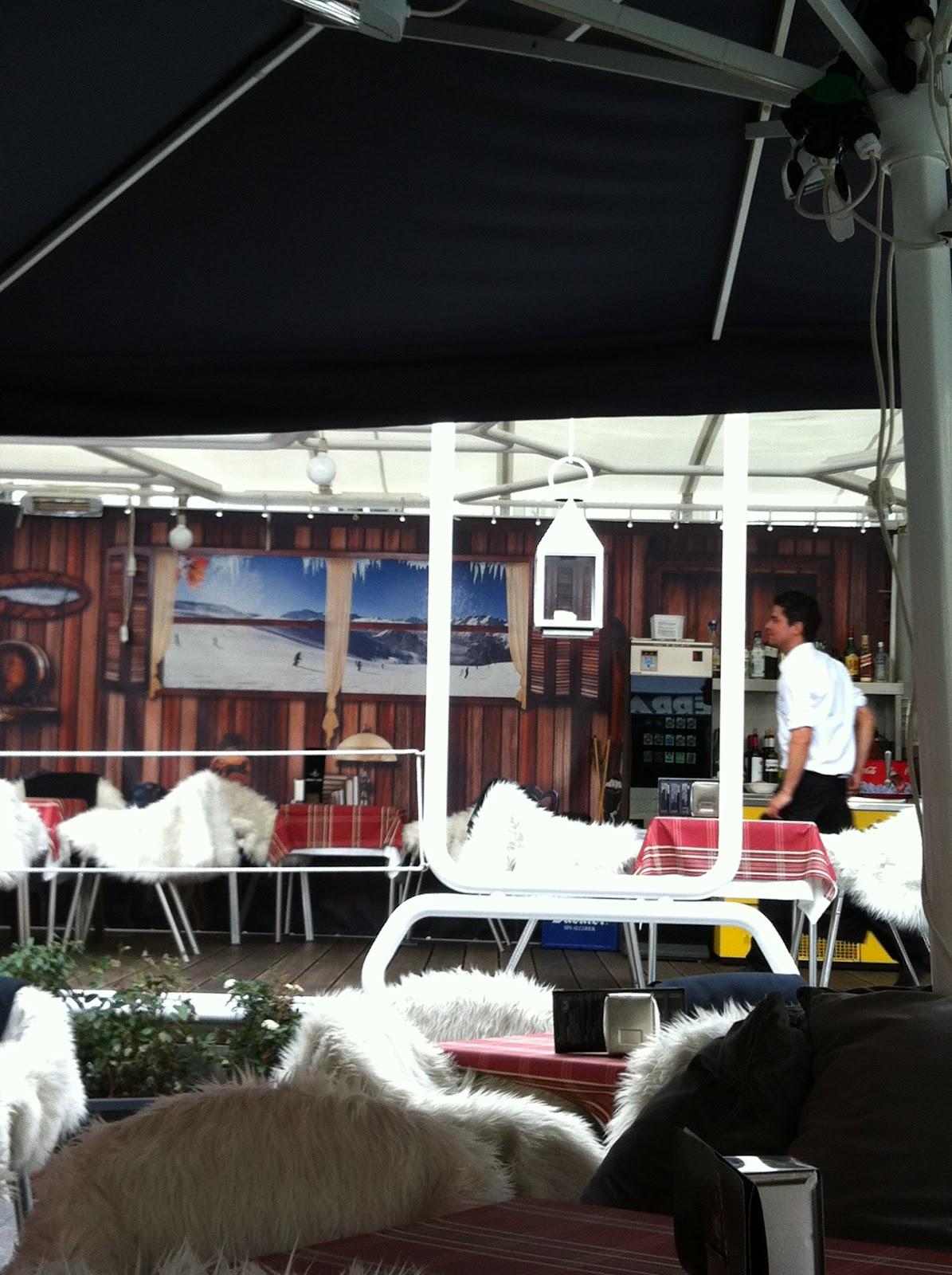 Seis Meses Antes Raclette En La Terraza De La Reina