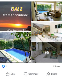 Villa rental Seminyak Petitenget