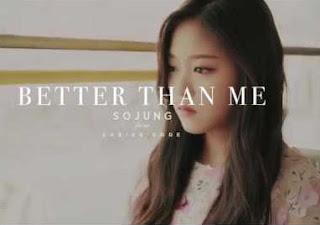 Lyric : SoJung (Ladies' Code) - Better than Me