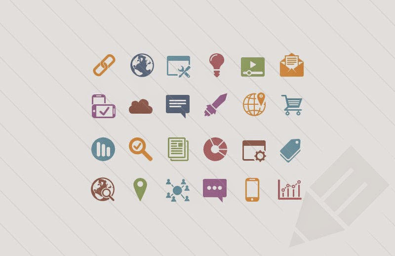 Vector SEO Icons
