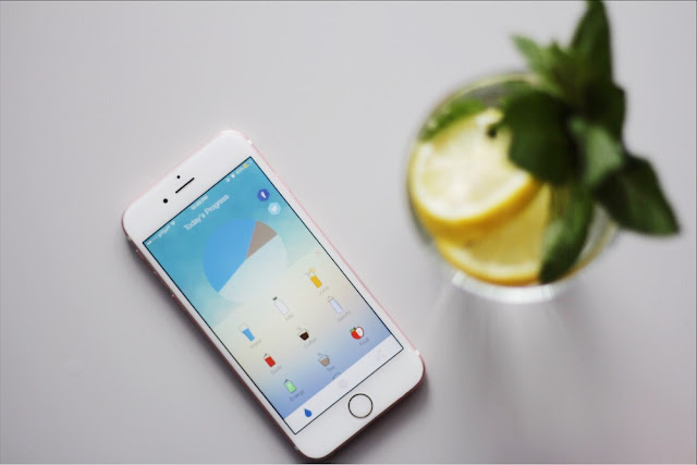Water drinking tracker for iphone